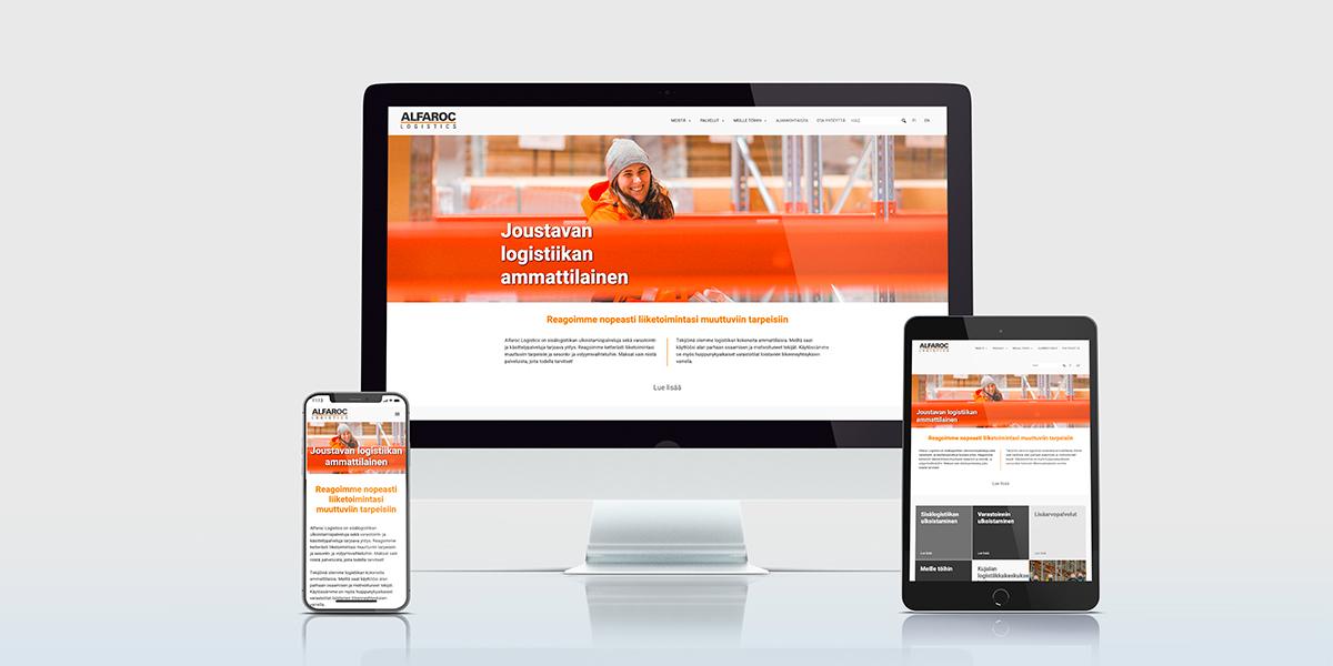 Alfarac uudet verkkosivut, Tammi Digitalin artikkelikuva