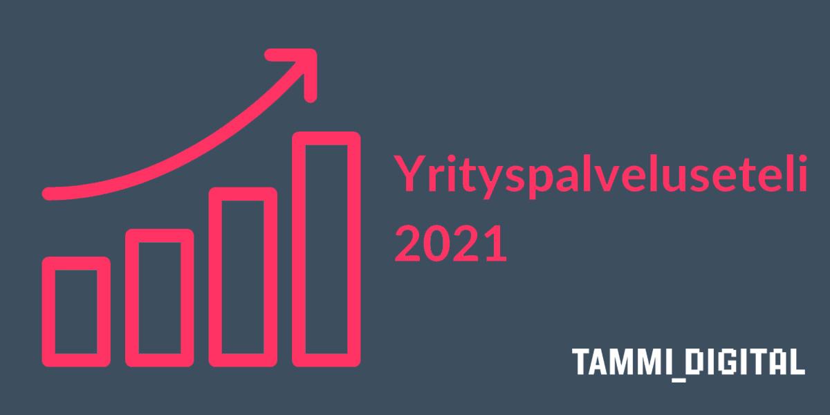 Tammi Digital palveluntarjoajana yrityspalvelusetelille 2021