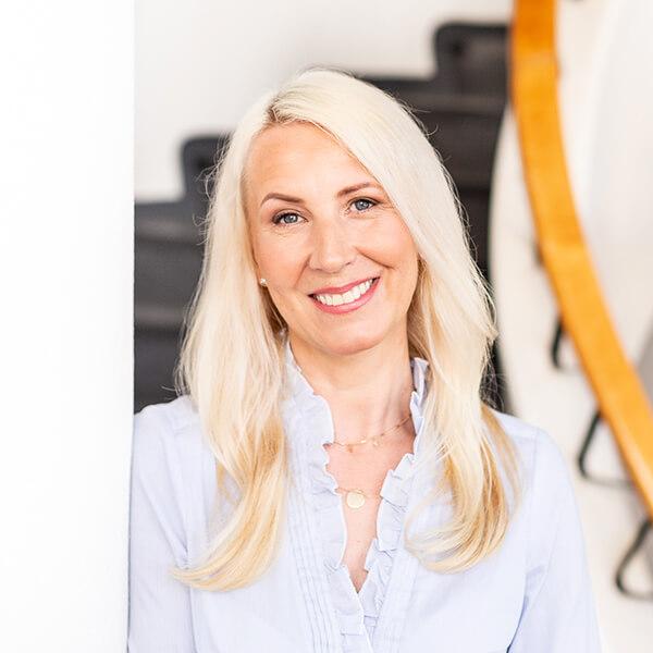 Kuvassa Tammi Digitalin myyntipäällikkö Marian Vainiomaäki