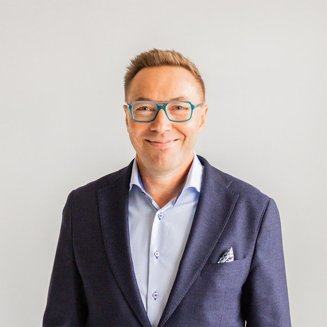 Kuvassa Tammi Digitalin hallituksen puheenjohtaja ja yrittäjä Manu Mesimäki